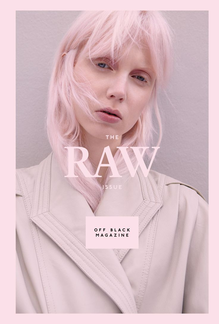 Off Black Magazine – The Raw issue. Creative Direction and design by Bonnevier Ainsworth. Cover photography by Johanna Nyholm. offblackmagazine.com bonnevierainsworth.com