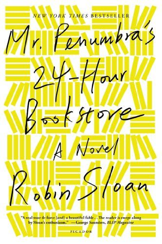 Mr. Penumbra's 24-Hour Bookstore: A Novel by Robin Sloan http://www.amazon.com/dp/1250037751/ref=cm_sw_r_pi_dp_A2VLtb059RFZWGV6