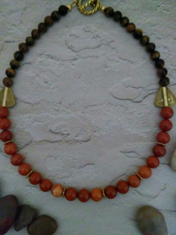Excited to share the latest addition to my #etsy shop: Orange brown stone bead jewelry/tiger eye jewelry/orange Jasper bead necklace/boho jewelry/women modern jewelry/anytime wear jewelry for her #jewelry #necklace #easter #birthday #luck #women #gemstone #toggle http://etsy.me/2CBB6yc #beadedjewelry #jewelrynecklaces