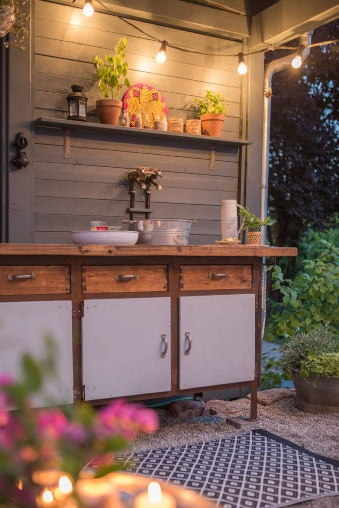 Diy Terrassen Makeover Vorher Nachher Teil 2 Diy Terrasse Garten Terrasse Terrasse