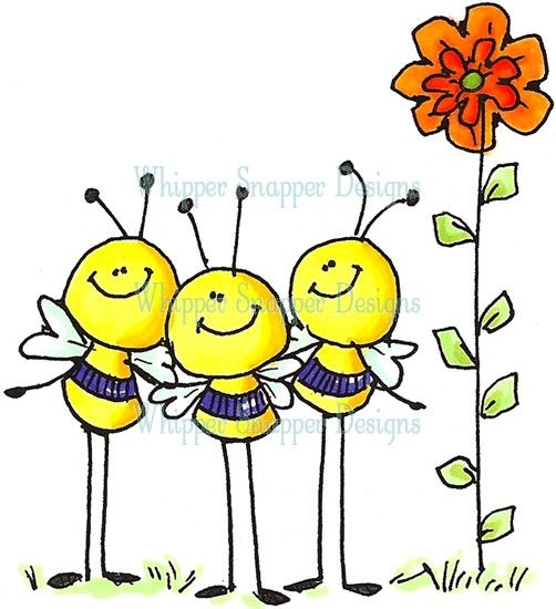 Busy Bees - sometime we'll have to talk about the birds and the bees!