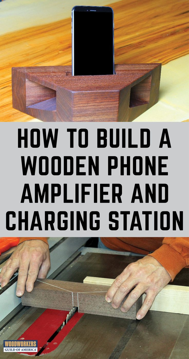 Corner Cabinet Furniture Dining Room: How To Build A Wooden Phone Amplifier And Charging Station