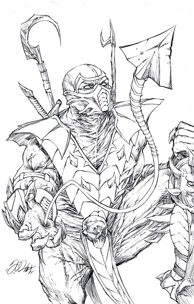 Mortal Kombat Drawings Bing images Coloring pages for