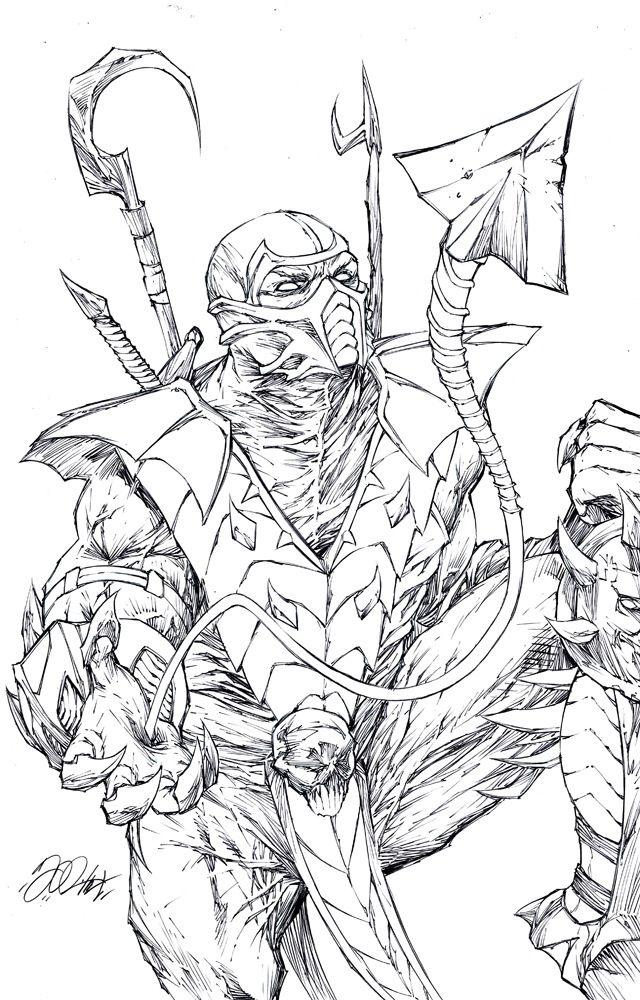 Mortal Kombat Drawings - Bing images