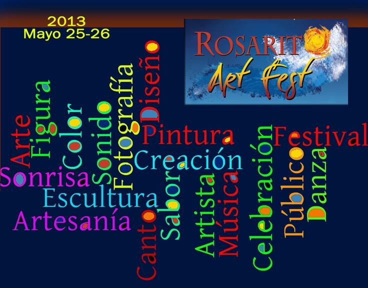 Rosarito Art Fest 2013 en Playas de Rosarito Baja California, Mexico.