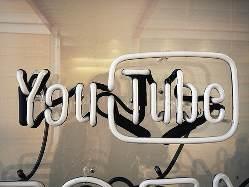 Recherche d'art sur youtube