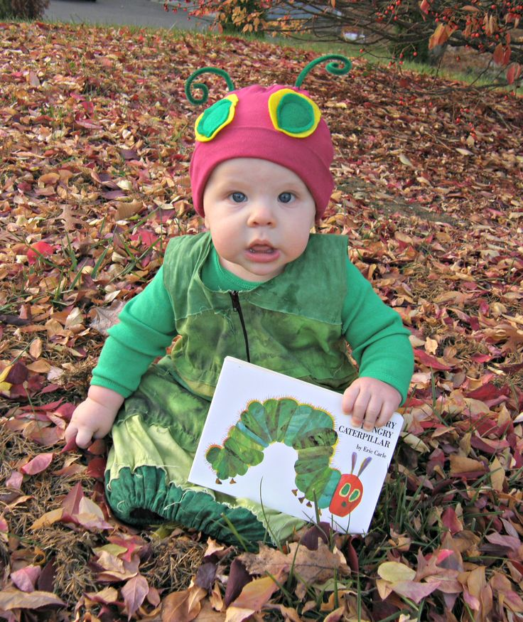 Cutest. Caterpillar. Ever. Visit Mommykakes for instructions to make your own #VeryHungryCaterpillar costume! #PenguinKidsHalloweenContest