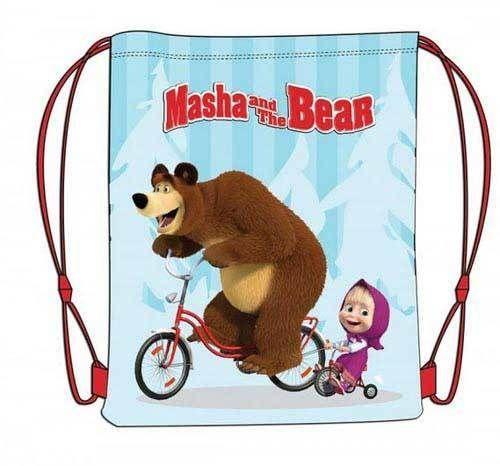 Mochila saco masha y el oso térmico Este artículo lo encontrará en nuestra tienda on line  www.worldmagic.es  info@worldmagic.es 951381126
