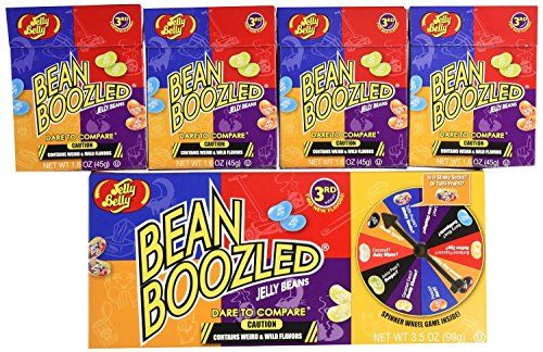 Jelly Belly Bean Boozled Spinner and Refill Boxes, 10 Ounce - http://darrenblogs.com/2016/03/jelly-belly-bean-boozled-spinner-and-refill-boxes-10-ounce/