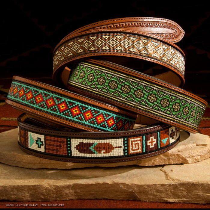 Beaded Belts    www.desertsagebeadart.com
