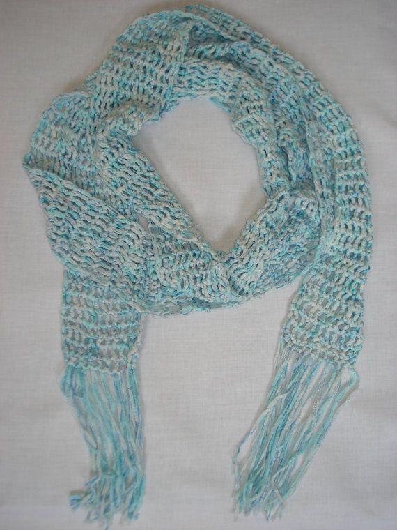 Speelse zomerse sjaal van miekeswolwerk op Etsy