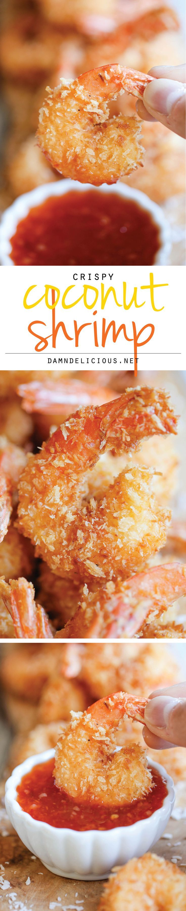 Coconut Shrimp - You won't believe how easy this is to make. and it's so much cheaper and tastier to make it right at home!