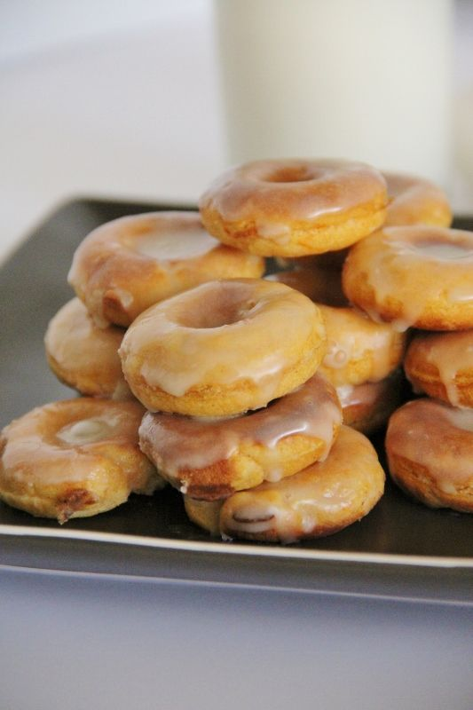 Donuts, Maple glaze and Potatoes on Pinterest