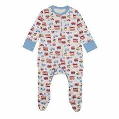 Babygrows & Sleepsuits - Frugi Lovely Babygrow - On The Road
