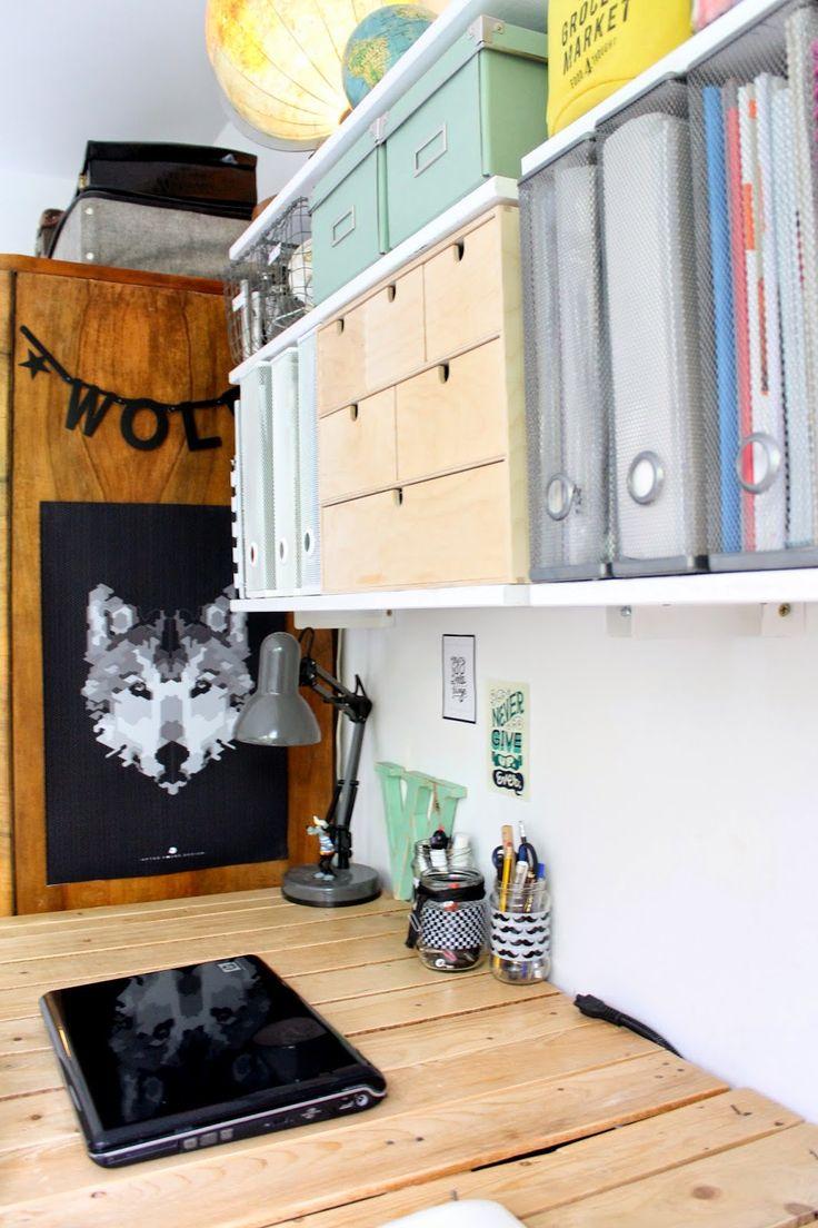 Enjoy Your Home: Małe domowe biuro dla dwojga