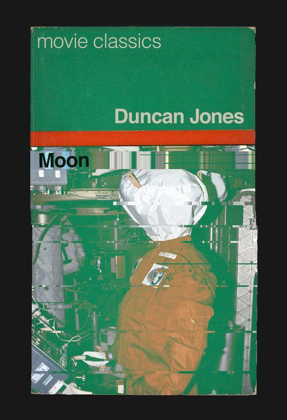 MOON FILM POSTER Duncan Jones Movie Poster Penguin Book