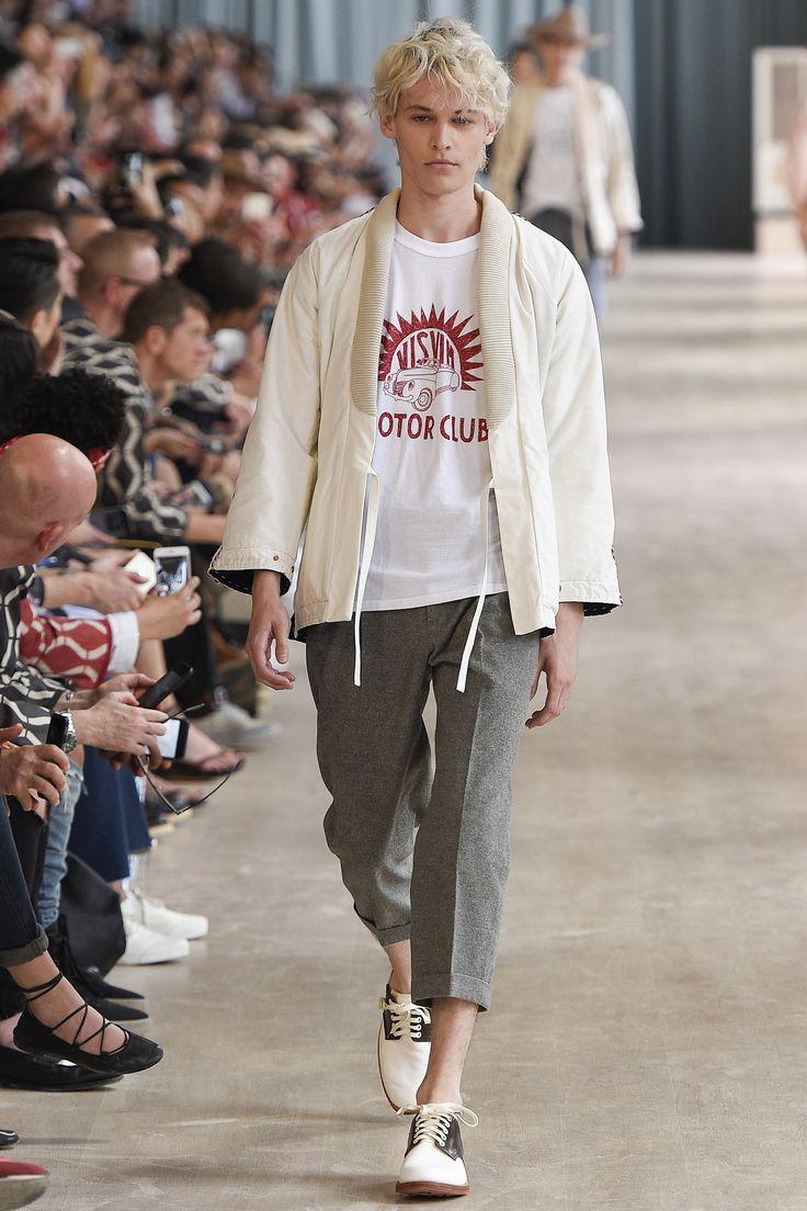 kimono jacket - Visvim Spring 2017 Menswear Fashion Show
