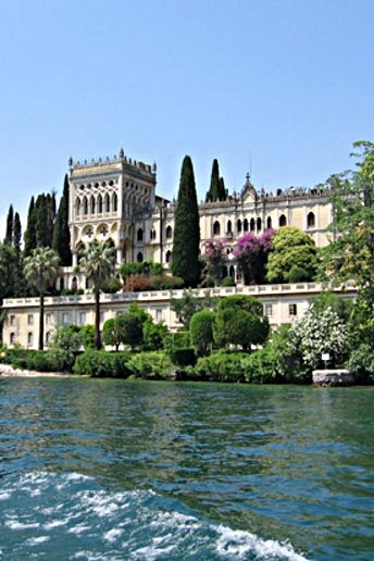 Lake Garda, Italy. Sat in this exact spot on a small boat and had a pic-nic.