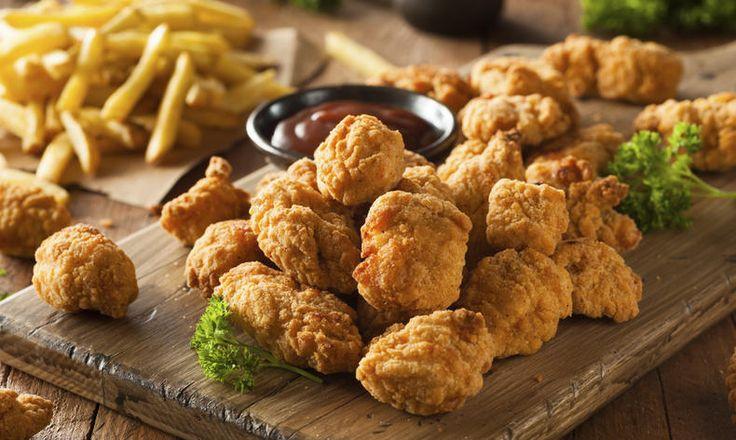 Pikantní kuřecí nugety bez lepku