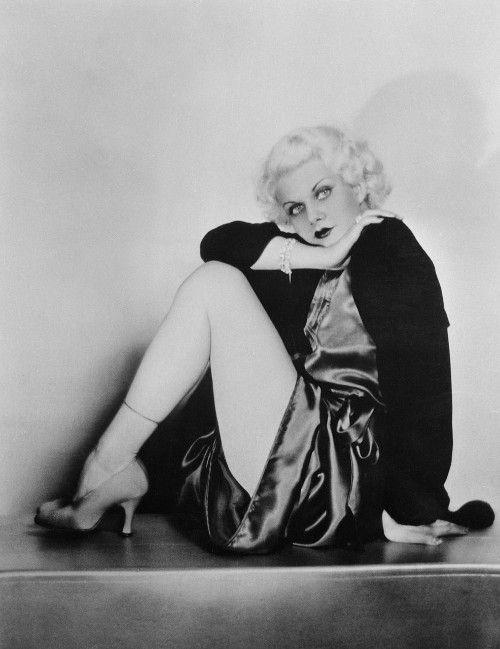 "Jean Harlow was a sexpot, the original ""blonde bombshell."""