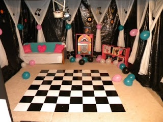 Kims Kandy Kreations: Sock Hop Fifties Birthday Party
