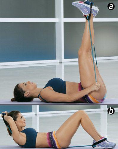 Estique para definir os músculos e enxugar as gordurinhas