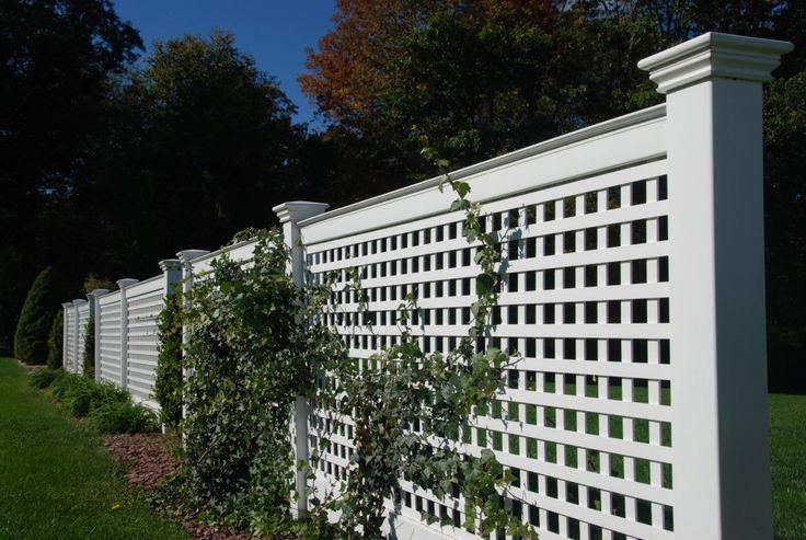 17 Best Ideas About Lattice Fence On Pinterest Picket