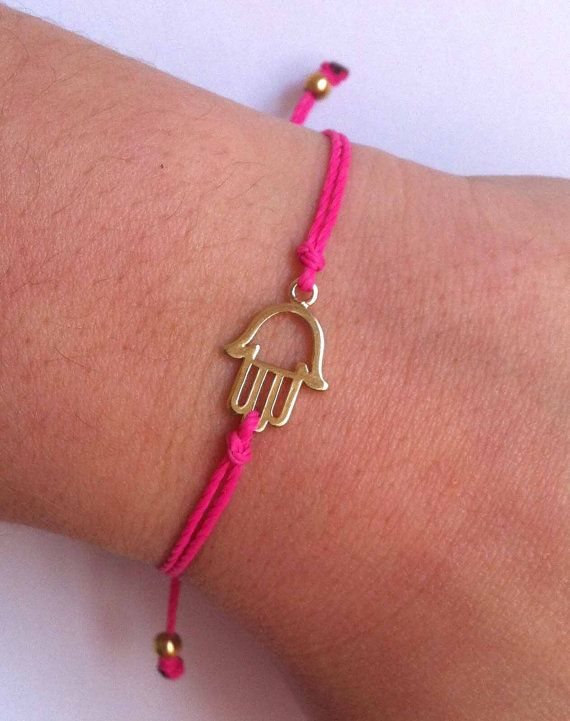 Viel Glück Armband. Hamsa-Armband. Boho-Armband. Die Hamsa wird geglaubt, um Schutz vor den bösen Blick, und warum es einen Talisman gilt