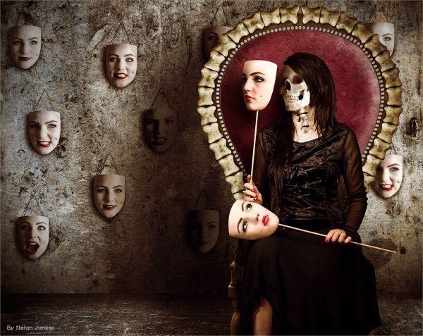 faceSimple Beautiful, Chops Suey, Dark Art, Crafty Crafts, Pretty Art