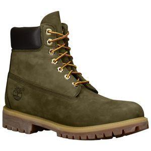 """Timberland 6"""" Premium Waterproof Boots - Men's - Olive"""