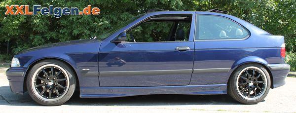 BMW E36 mit DBV S-Australia 17 Zoll Leichtmetallfelgen