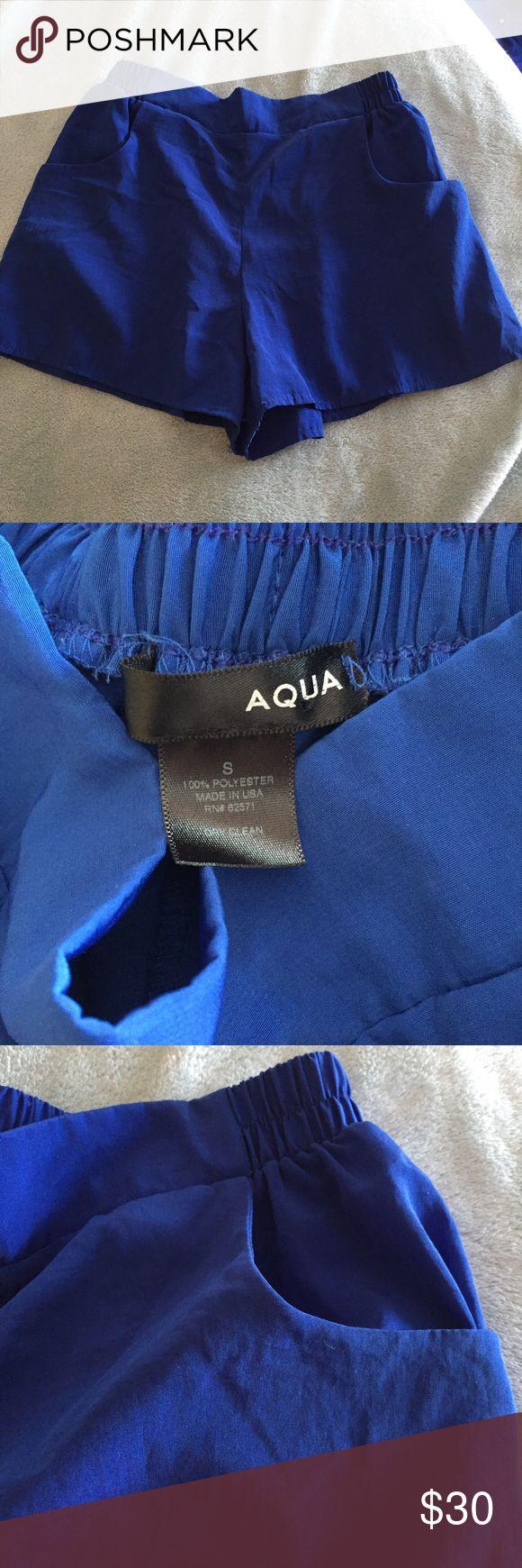 Aqua shorts Worn once ❌🚫 NO TRADES 🚫❌ Aqua Shorts