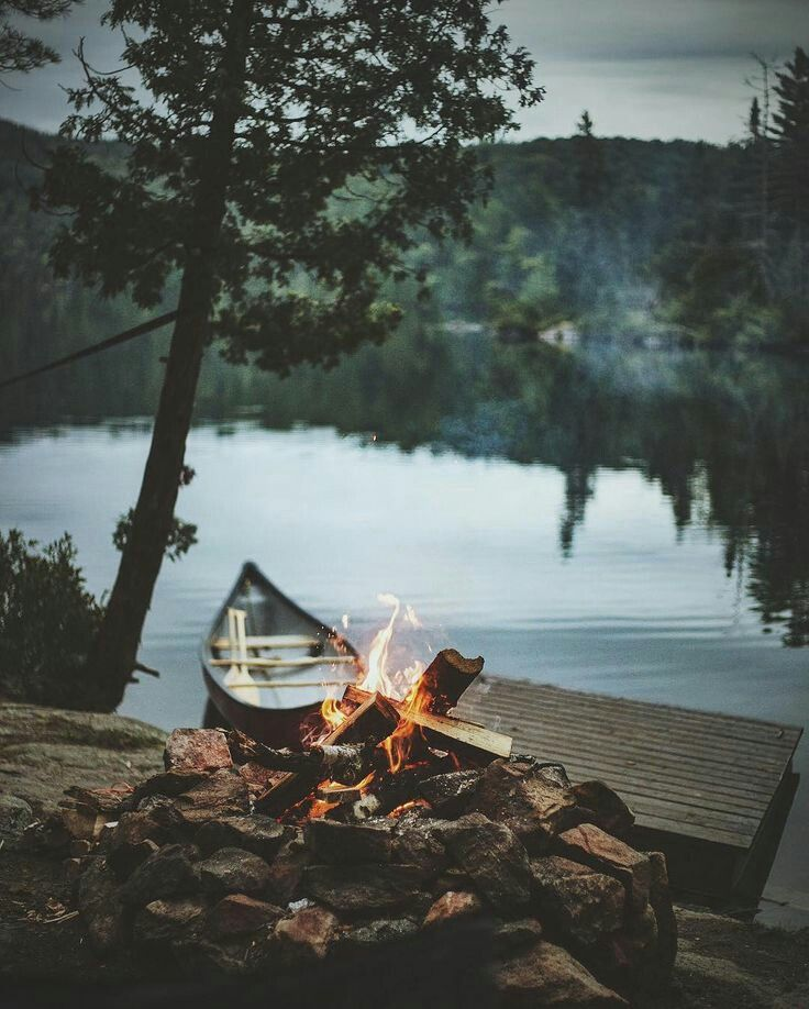 I can't wait for camping and campfires.