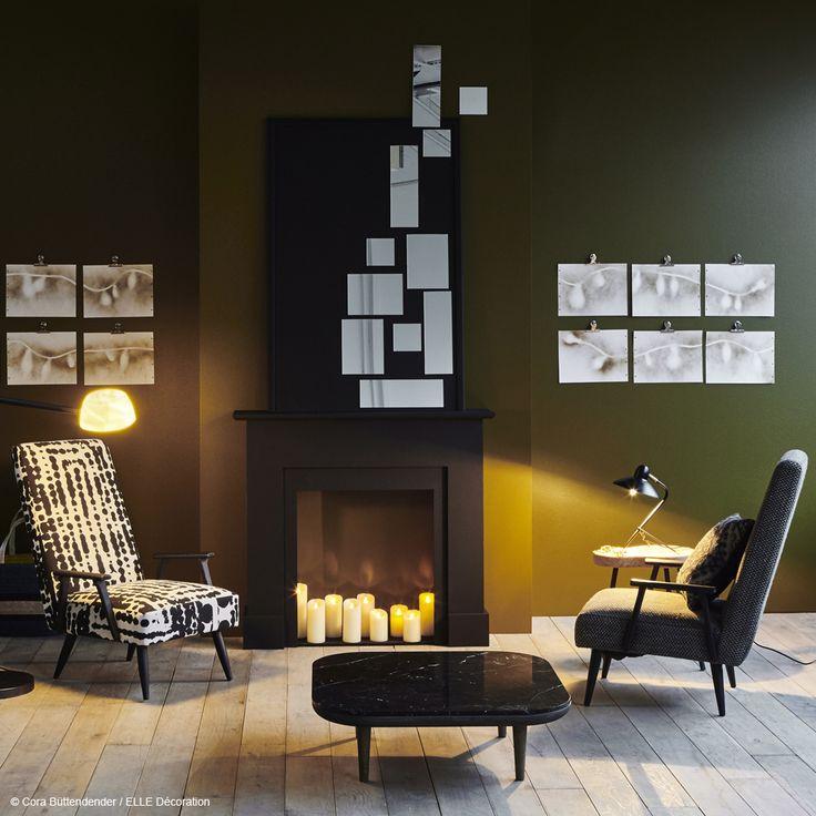 17 meilleures id es propos de chemin e fausse sur for Fausse cheminee decorative en bois