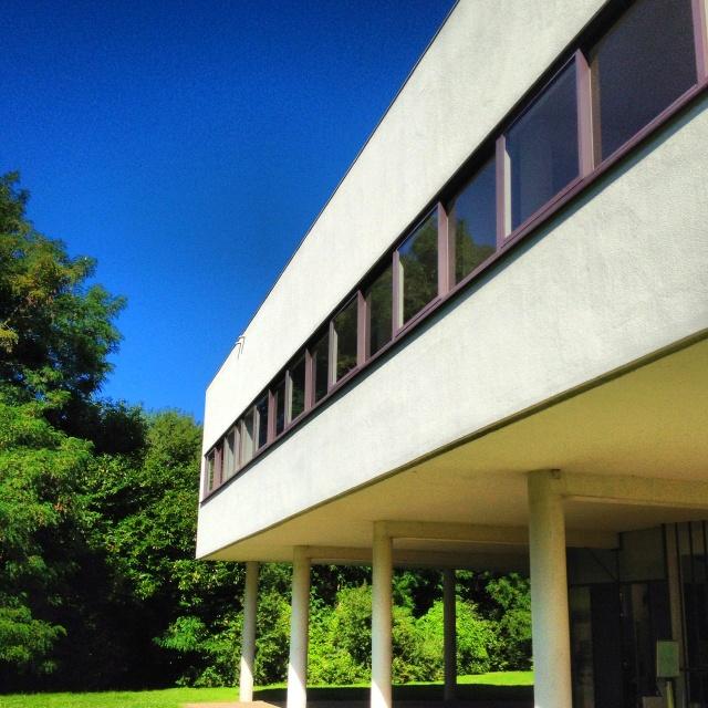 19 best Villa Savoye-Le Corbusier images on Pinterest ...