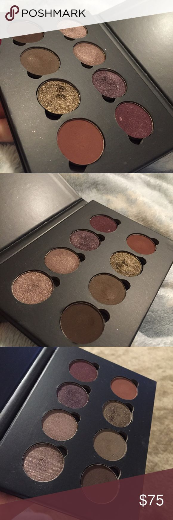 Custom 8 shadow Anastasia Beverly Hills palette. Custom 8 shadow Anastasia Beverly Hills palette. Only a couple of these were actually used. Most are just swatched or untouched. Colors are: chocolate crumble, custom, not today, aubergine, smoke, ash brown, brownie, red earth. Bought from the ABH website. Please ask any questions! No trades. Anastasia Beverly Hills Makeup Eyeshadow