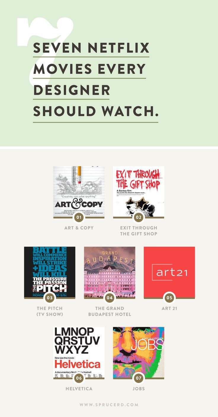 Netflix movies for graphic designers   Spruce Rd. #Netflix #graphicdesign