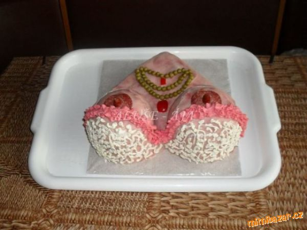 Slaný dort -Prsa