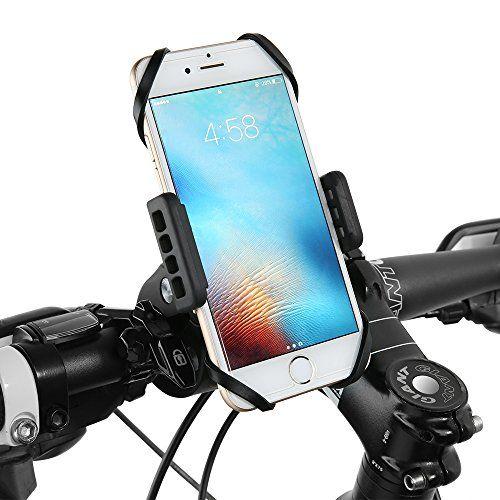 Siroflo Support Téléphone pour Vélo Moto VTT Trottinette Scooter Rotatif à 360 Degrés Compatible avec iPhone 7 7 Plus 6 6 Plus iPhone SE,…