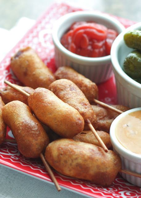 Make Your Own Miniature Corn Dogs {traditional and gluten-free recipes included}