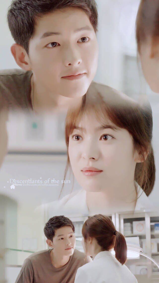 Your not just another person your are the love of my life...... #Descendants of the sun #song joong ki #song hye kyo