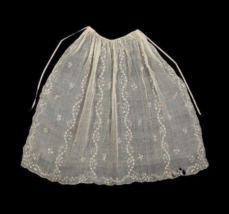 Apron  American (New England), 18th century  New England, USA
