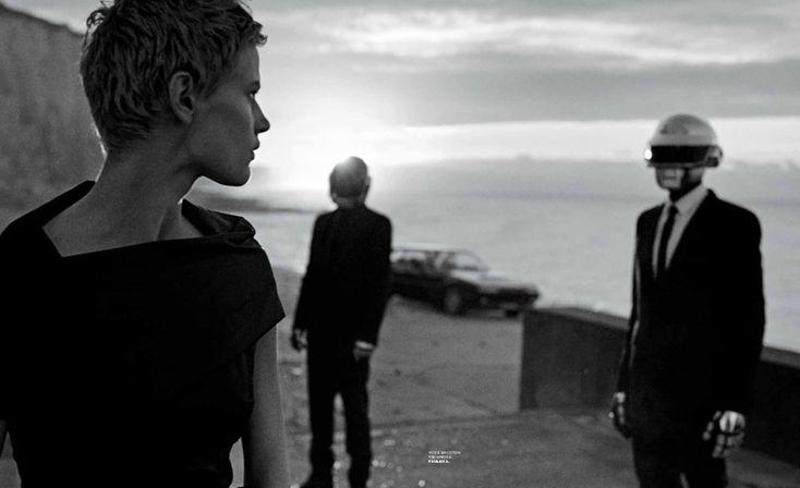 ☆ Saskia de Brauw & Daft Punk | Photography by Peter Lindbergh | For M Magazine France | December 2013 ☆ #saskiadebrauw #daftpunk #peterlindbergh #mmagazine #2013