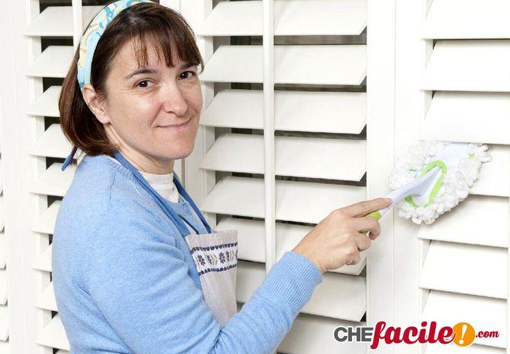 Come pulire tapparelle, persiane o veneziane in poco tempo