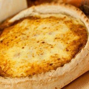 Recette traditionnelle de la tarte au Maroilles  - Aux poireaux et à la crème, sur pâte brisée