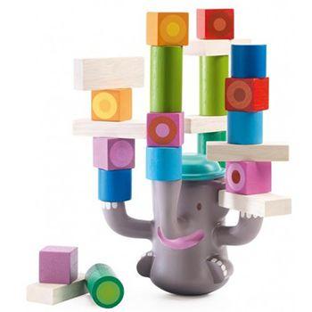 Ξύλινα τουβλάκια ισορροπίας «Ελέφαντας»