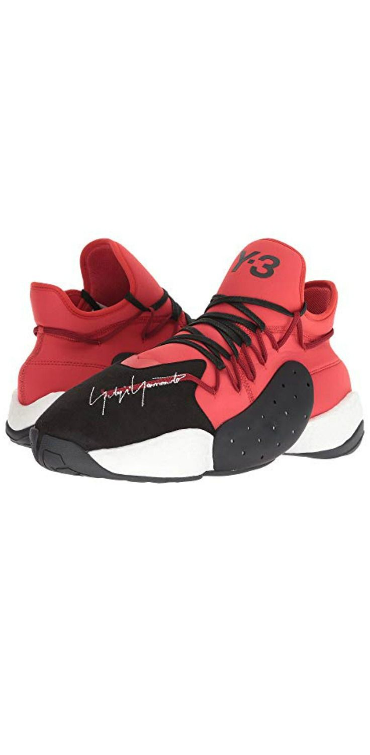 2ce6ab2ceb1 Step into power sporting the signature  adidas  Y3 by  YohjiYamamoto Y-3  BYW BBALL  sneaker.  men  footwear  shoes  sneakers  trainers