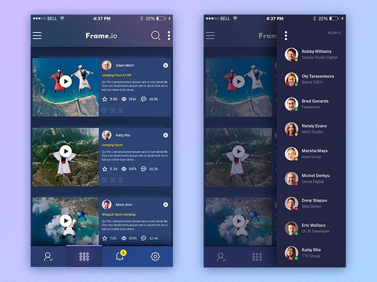 Deceiver.io - Mobile App by Yaroslav Zaytsev