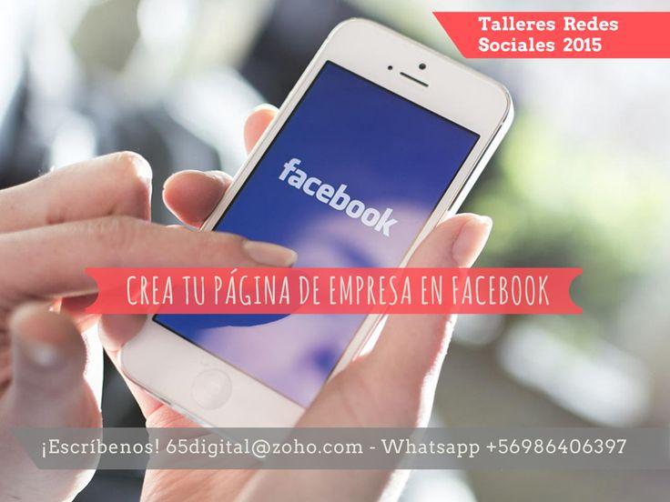 Todos pueden crear una fan page pero aprender a optimizarla y administrar para generar comunidad alrededor de tu marca, es ir un paso más allá. Por eso participa de nuestros talleres de creación, optimización y administración de una fan page en Facebook para empresas. Aprende a crear un canal optimizado, con aplicaciones, consejos, trucos y nuevos cambios en esta plataforma. Escríbenos: 65digital@zoho.com #65Digital #FacebookEmpresa #tallerderedessociales #Chile #socialmedia