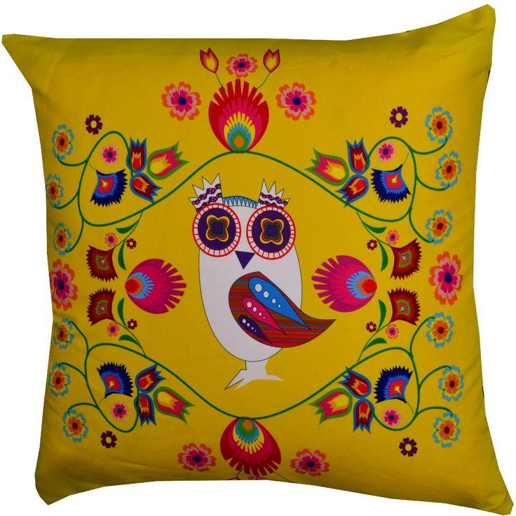 Designerska poduszka dekoracyjna Folk № gd402